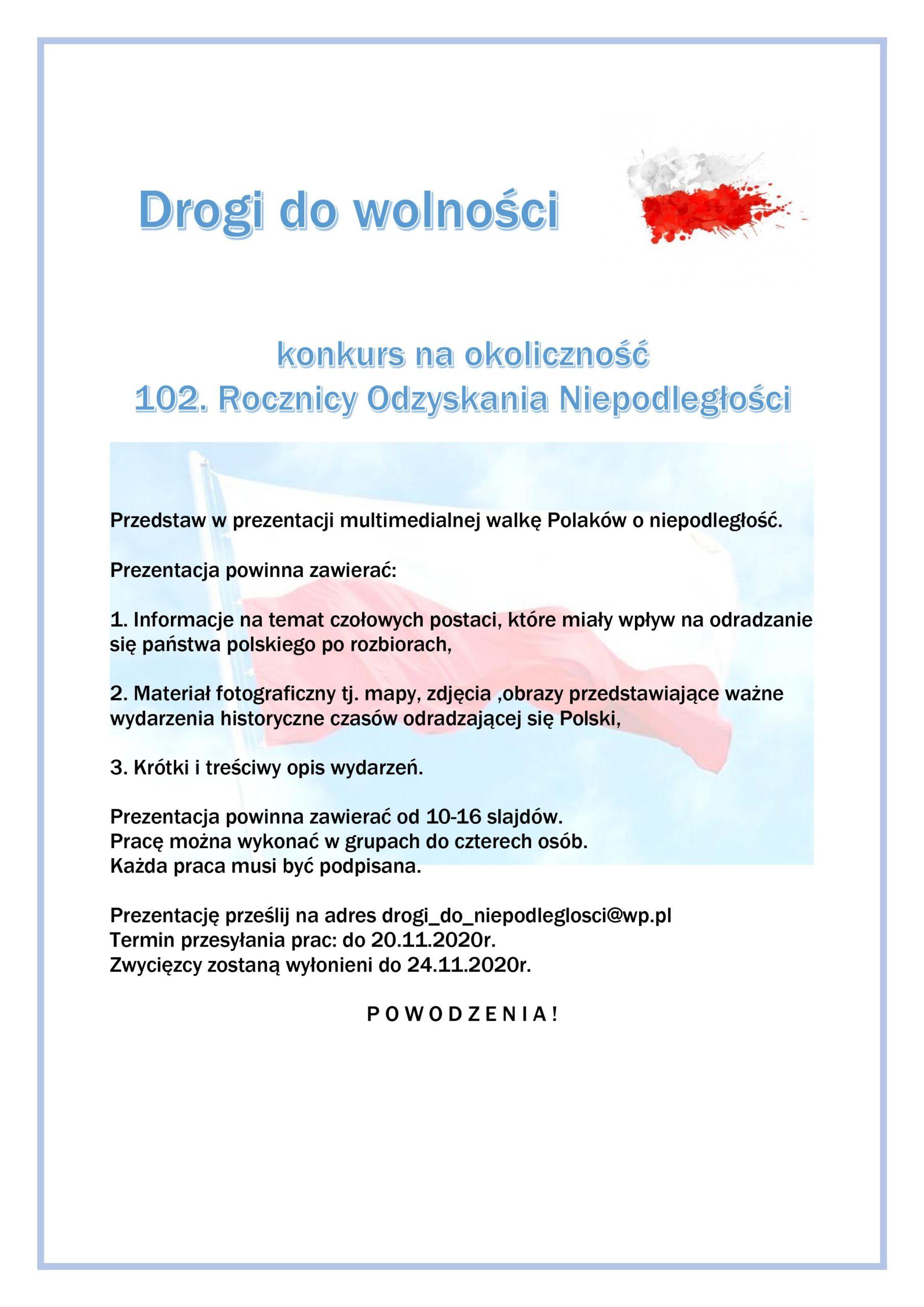Drogi do wolności - plakat Jasło